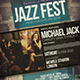 Jazz Event Flyer / Poster Vol.2 - GraphicRiver Item for Sale
