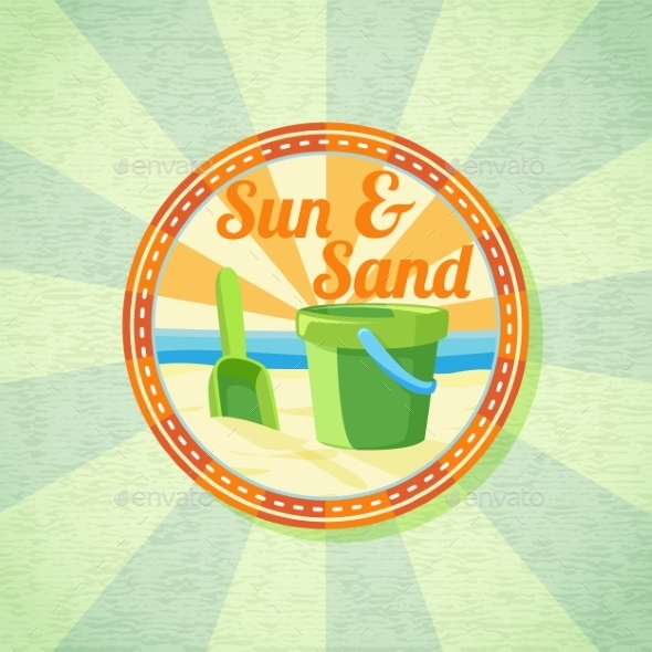 GraphicRiver Sun and Sand 11088052