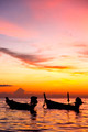 south china sea sunrise boat  and sea in thailand - PhotoDune Item for Sale