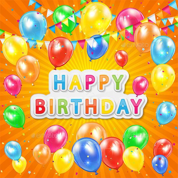 GraphicRiver Birthday Background 11088247