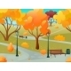 Autumn Park Landscape - GraphicRiver Item for Sale