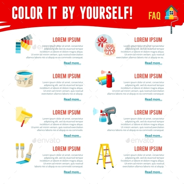 GraphicRiver Painting Work Infographics 11088384
