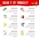 Painting Work Infographics - GraphicRiver Item for Sale