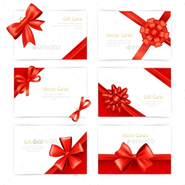 GraphicRiver Gift Cards Set 11088436