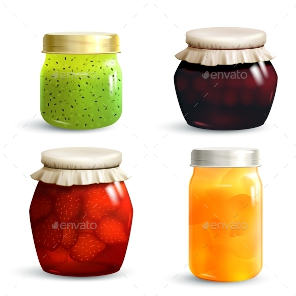 GraphicRiver Jam Jar Set 11088517