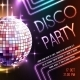 Disco Party Poster - GraphicRiver Item for Sale