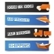 Origami Logistic Banners - GraphicRiver Item for Sale