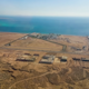 Aerial View from the Aircraft to Desert and Sea - VideoHive Item for Sale