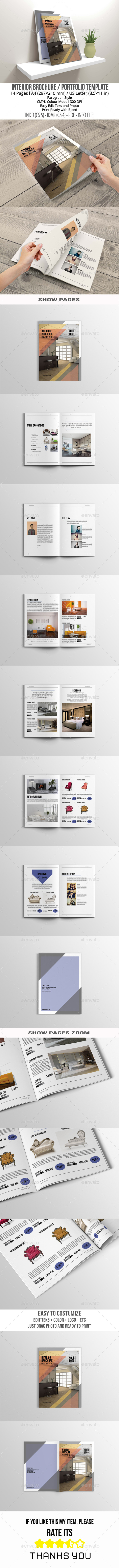 GraphicRiver Interior Brochure 11088676