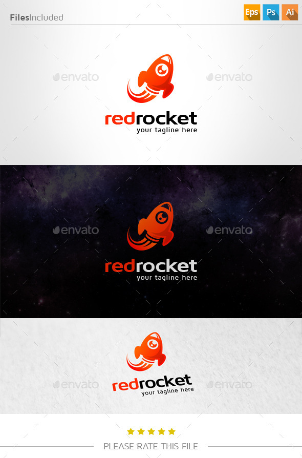 GraphicRiver Rocket Logo 11088681