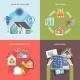 Energy Saving House  - GraphicRiver Item for Sale