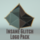 Insane Glitch | Logo Pack - VideoHive Item for Sale