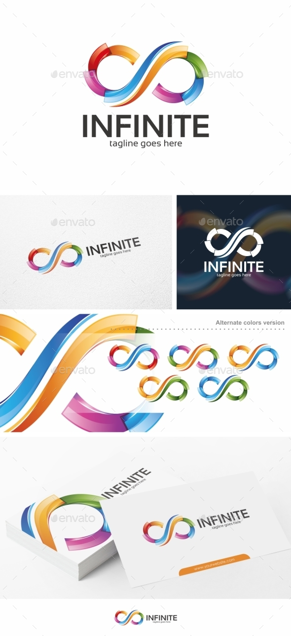 GraphicRiver Infinite Infinity Logo Template 11089126