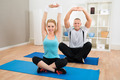 Young Couple Exercising - PhotoDune Item for Sale