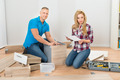 Couple Assembling Furniture - PhotoDune Item for Sale