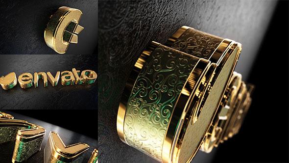 VideoHive Black Gold Logo V2 11089374
