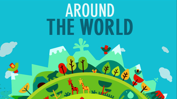 Around the World - After Effects Template | VideoHive 11089715