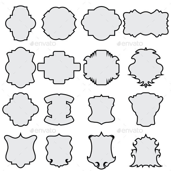 GraphicRiver Decorative Frame Set 11089883