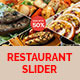 Restaurant Slider  - GraphicRiver Item for Sale