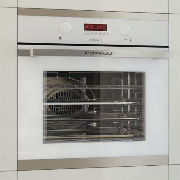 3DOcean Kuppersbusch Oven EEB6360 11089909