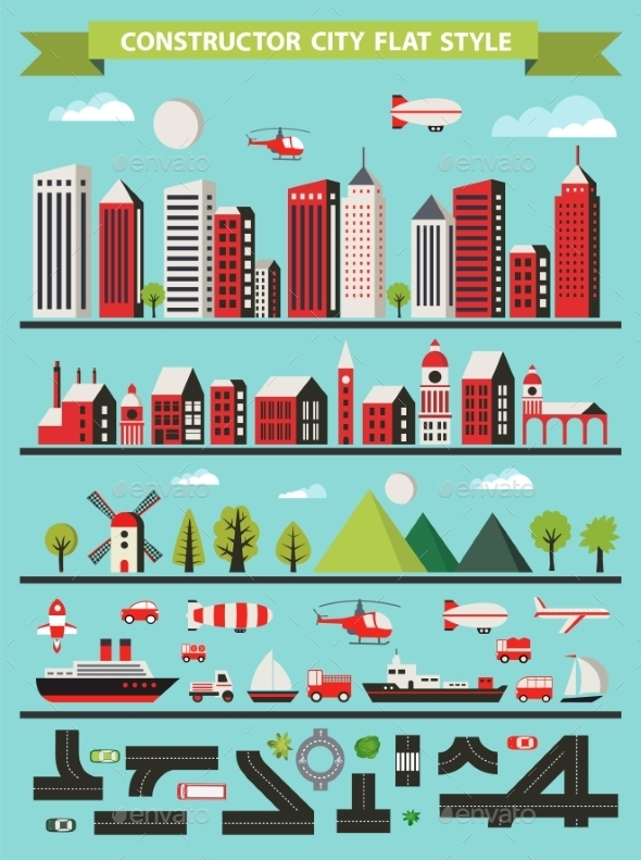 GraphicRiver Urban Constructor 11090090