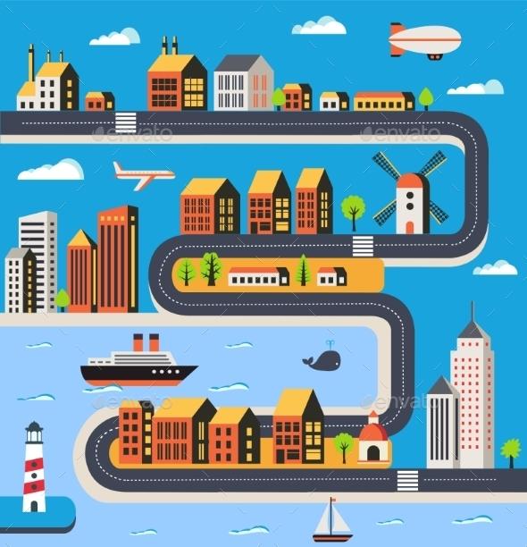 GraphicRiver Urban 11090114
