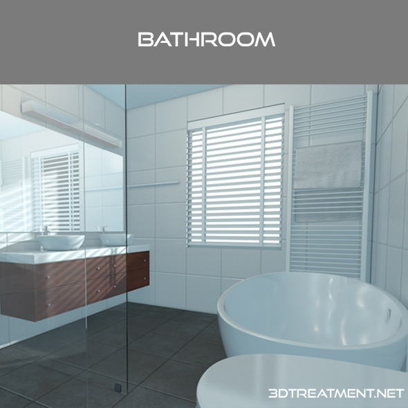 Bathroom - 3DOcean Item for Sale