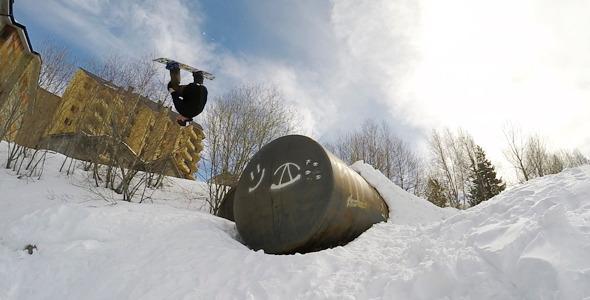 Snowboard Front Flip