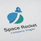 Space Rocket V2 Logo - GraphicRiver Item for Sale