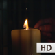 Lighting a Candle With Match - VideoHive Item for Sale