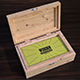 Wooden Business Card Holder Mock-Up - GraphicRiver Item for Sale
