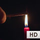 Lighting of match with candle fire - VideoHive Item for Sale