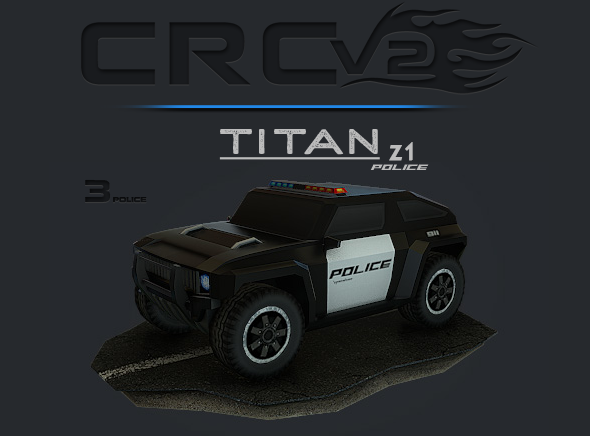 CRCPV2-03p – Cartoon Race Car Pack V2 03p - 3DOcean Item for Sale