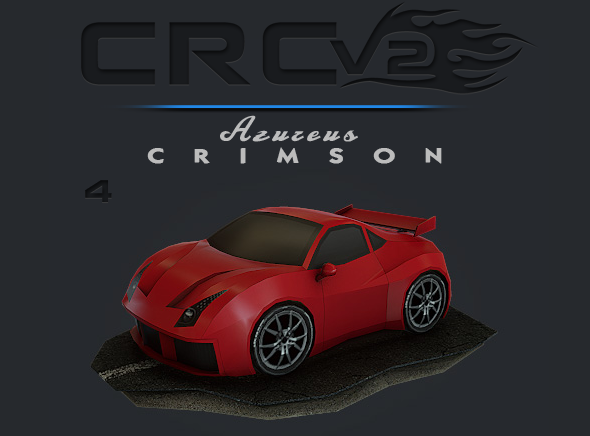 3DOcean CRCPV2-04 Cartoon Race Car Pack V2 04 11091300