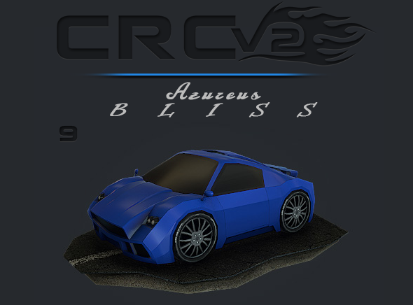 3DOcean CRCPV2-09 Cartoon Race Car Pack V2 09 11091420