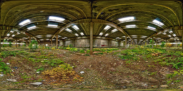 Industrial HDR Environment - 3DOcean Item for Sale