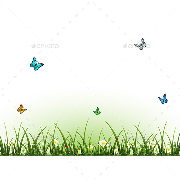 GraphicRiver Flying Butterflies 11093028
