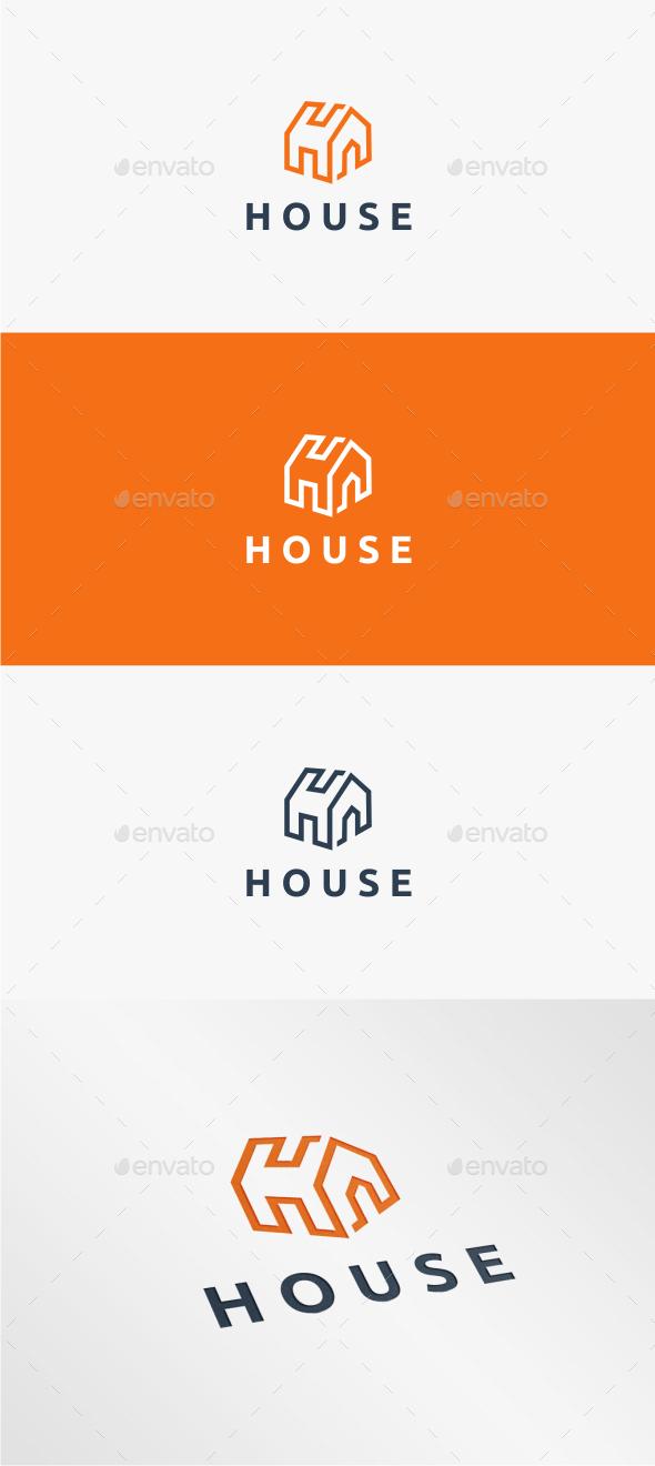 GraphicRiver House Logo Template 11093151