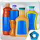 4 Juice Bottles - GraphicRiver Item for Sale
