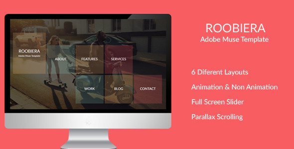 Roobiera - Multipurpose Muse Template