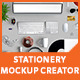 Stationery Mockup Creator - GraphicRiver Item for Sale