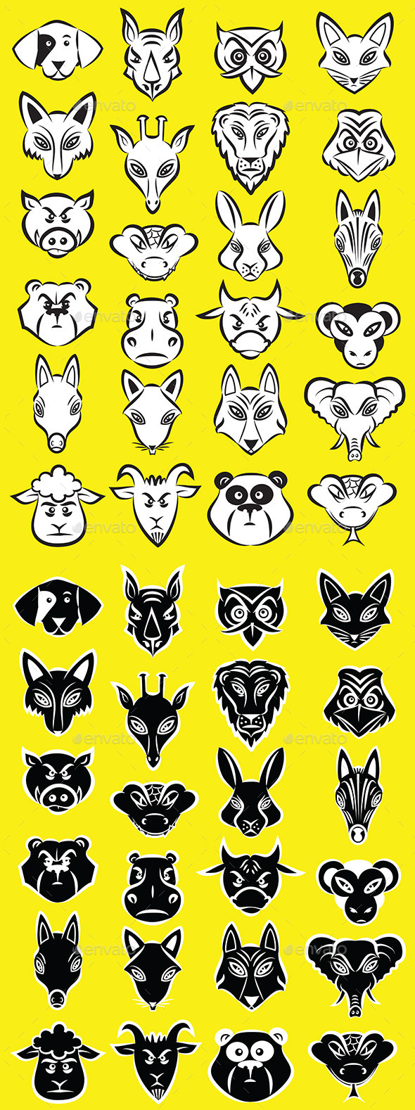 GraphicRiver Animals Vector 11093897