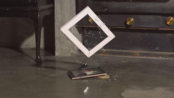 Frame Dropping onto a Concrete Floor