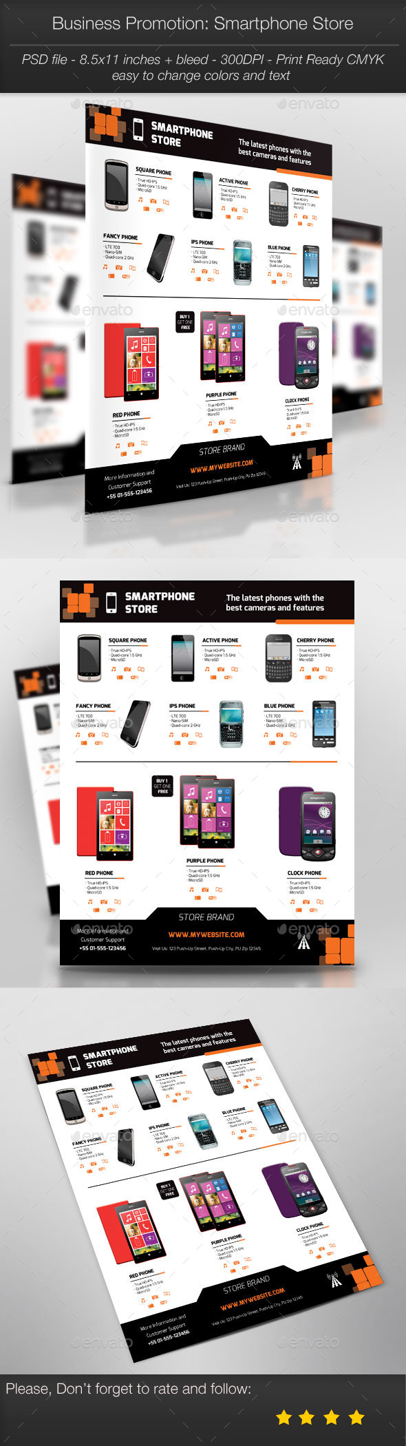 GraphicRiver Business Promotion Smartphone Store 11094086