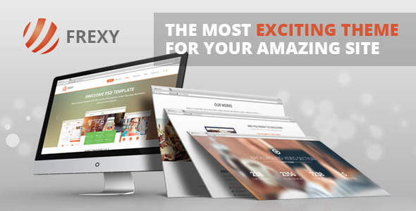 Frexy – Responsive Multi-Purpose Theme Download