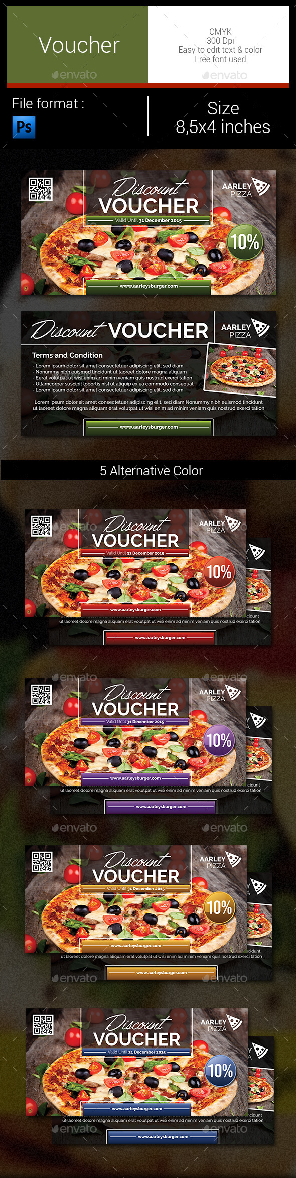 GraphicRiver Voucher 11094279