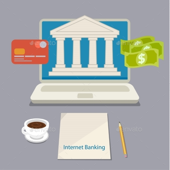 GraphicRiver Internet Banking 11094344