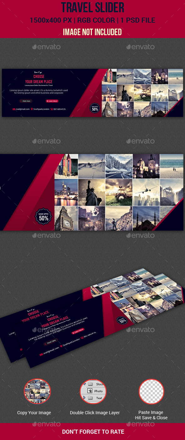 GraphicRiver Travel Slider 11094365