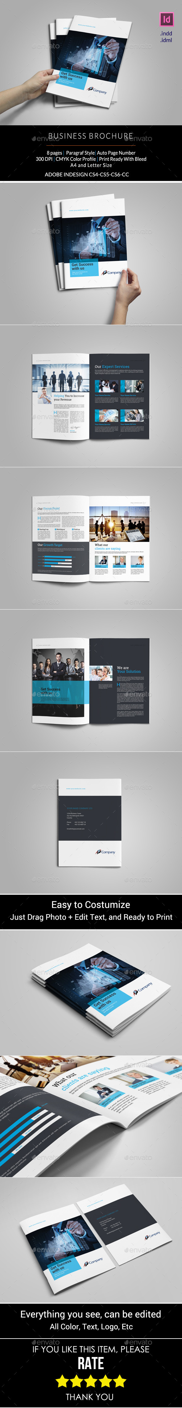 GraphicRiver Business Brochure Template 11094366