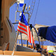 American Flag on Board - VideoHive Item for Sale